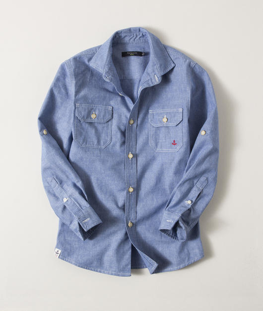 CAMISA BLUE CASUAL ÍNDIGO KIDS