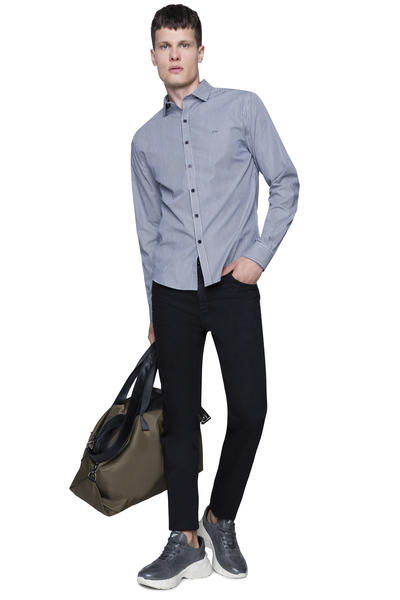 CAMISA SLIM REGULAR STRIPED