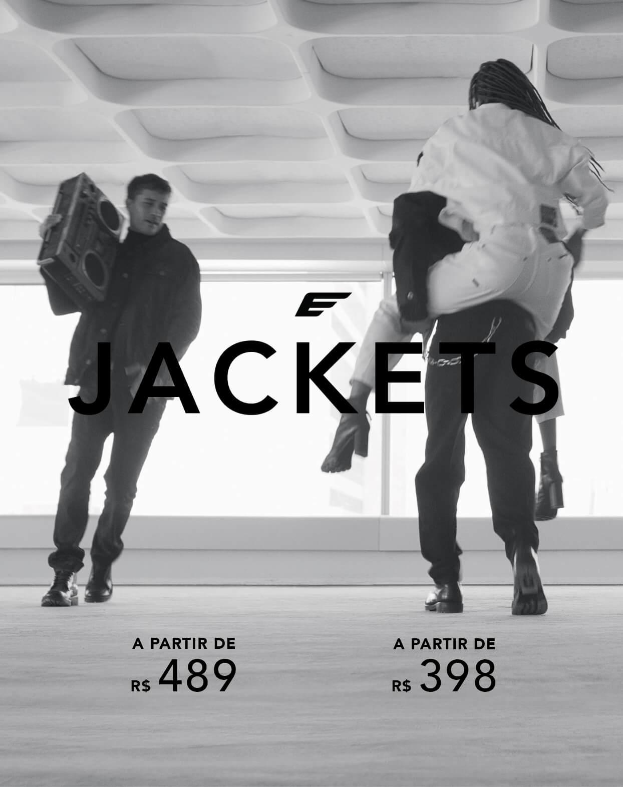 Jaquetas e Tricos